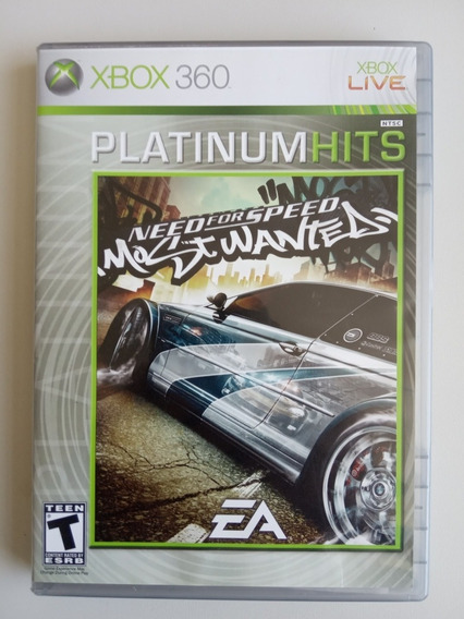 Need For Speed Most Wanted 2005 Xbox 360 Raro Impecável