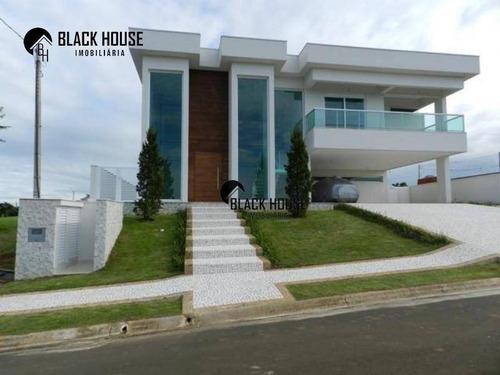 Sobrado Com 5 Dormitórios À Venda, 470 M² Por R$ 2.200.000,00 - Portal Dos Bandeirantes - Porto Feliz/sp - So0522