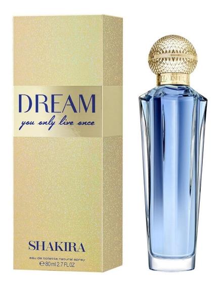 Perfume Shakira Dream Eau De Toilette 80ml - Feminino