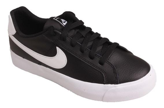 Tênis Masculino Nike Court Royale - Preto/branco