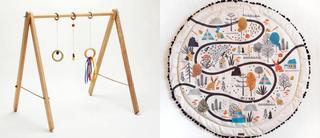 Playmat Manta Acolchonada Alfombra + Gimnasio Montessori