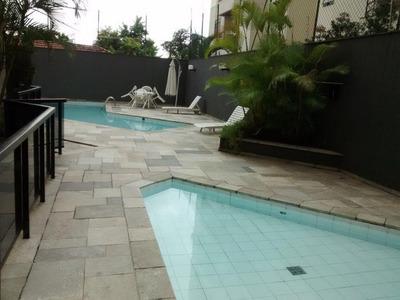 Apartamento Em Brooklin Paulista, São Paulo/sp De 136m² 3 Quartos Para Locação R$ 4.000,00/mes - Ap255074