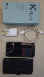 Telefone Cel LG K4 Lite Usado Com Capinha De Brinde