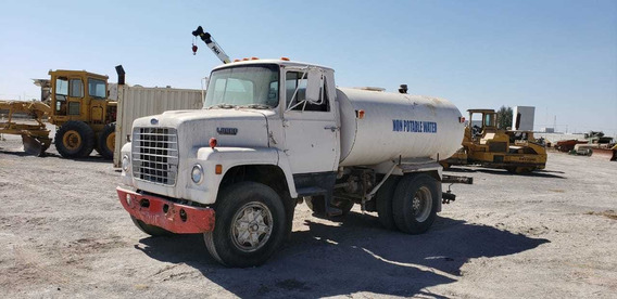 Camion Ford Disel Automatico Pipa 87 De 8mil Lts,