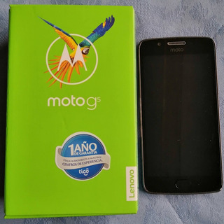 Celular Motorola Moto G5 32 Gb, 2 Gb Ram Octa-core, 13mp