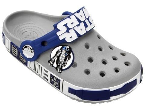 Sandália Crocs Cb Star Wars R2d2 Clog Infantil