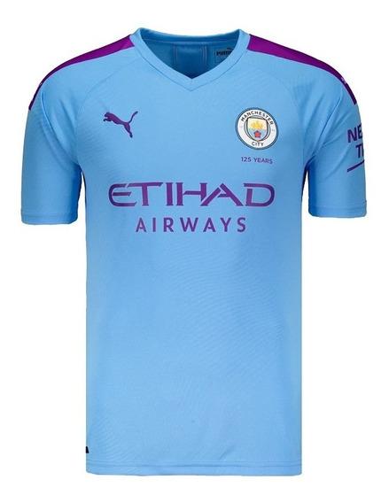 Camisa Nova Manchester City Inglaterra Masculino - Garantia