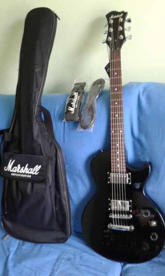 Guitarra Marshall Les Paul Zerada Na Caixa