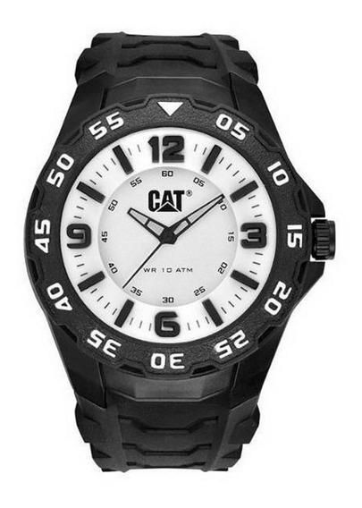 Relógio Masculino Caterpillar Lb11121231 Preto/branco C/nfe