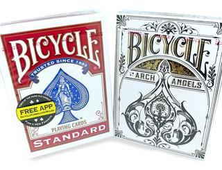Archangels + Bicycle Standard 2 Barajas Cartas Magia Nuevas