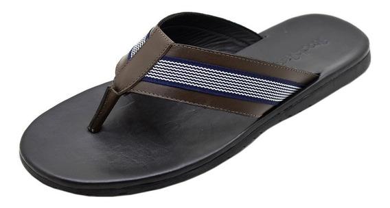 Chinelo Masculino De Couro Stock Sandals Hype