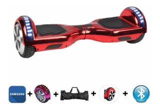 Hoverboard Skate Elétrico Bluetooth Bateria Samsung