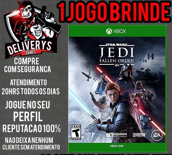 Star Wars Jedi Fallen Order Xbox One Midia Digital+ 1 Brinde