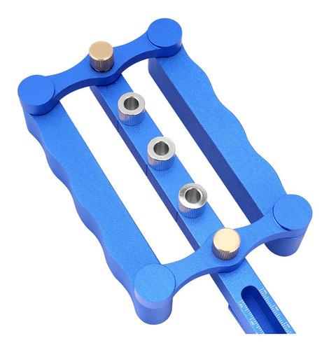 plantilla de espiga autocentrante de 6//8//10 mm Kit de agujeros para taladro de madera Herramientas manuales para trabajar la madera Plantilla de autocentrado
