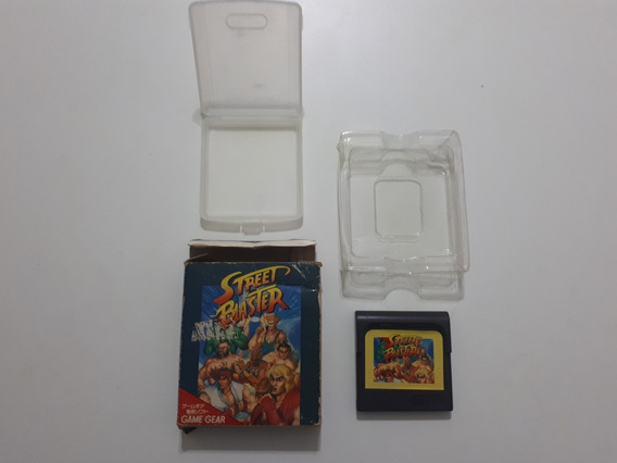 Street Blaster - Game Gear (street Fighter) Aceito Proposta