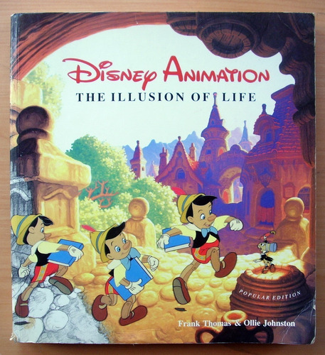 Imagen 1 de 7 de Disney Animation: The Illusion Of Life. Primera Edicion 1984