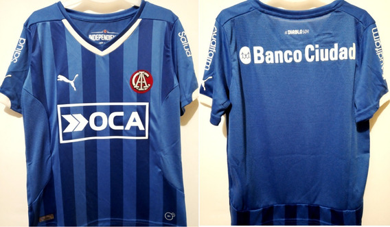 Camiseta De Independiente Puma Azul 2014 De Niño Talle 6