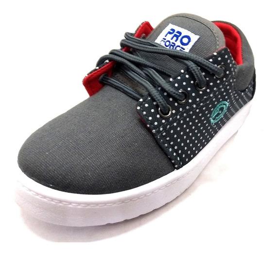 Zapatillas Skate De Lona Marca Proforce Art 318