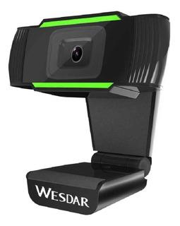 Web Cam Full Hd 1080p Usb Con Microfono Video Skype Zoom Pc