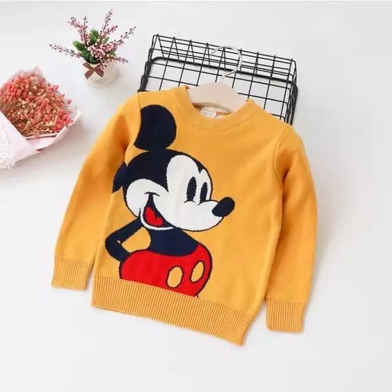 Sueter De Mickey Mouse Infantil, Sueter De Bebe