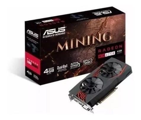 Promo Placa De Vídeo Amd Radeon Rx 470 Mining 4gb Gddr5 Asus