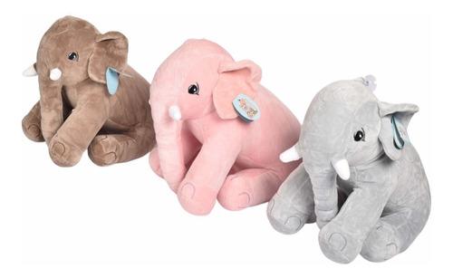 Elefante Almohada De Peluche 30cm 2536