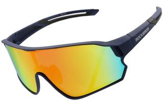 Óculos Ciclismo Rockbros Lente Polarizada + Clip Grau