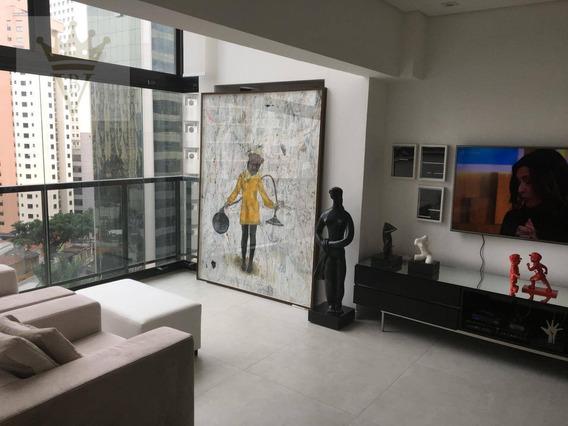 Apartamento Na Vila Olímpia, 70m, 1 Dormitório, 1 Vaga - Lf0001