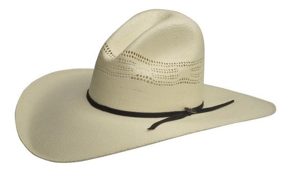 Sombrero Vaquero Para Hombre Estilo Robavacas Material Randado Mod. Frisco Calidad 15x De Rio Grande
