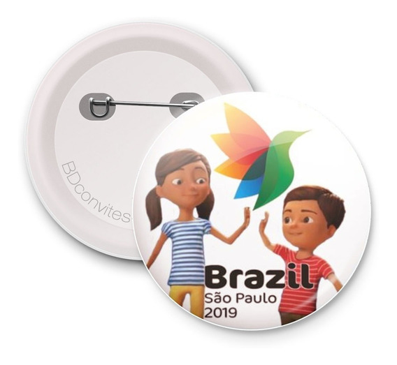 30 Bottons Jw Brasil Testemunha De Jeová Congresso Sp 2019