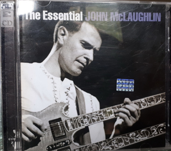 Cd John Mclaughlin The Essential Doble Muy Buen Estado Bookl