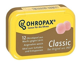 Protetor Auricular Tampão Natação Ohropax Classic 6 Pares