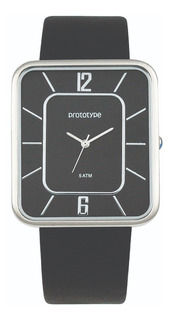 Reloj Prototype Hombre,sumergible,diseño Cuadrado,elegante.