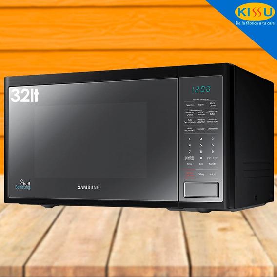 Microondas Samsung 1.1pies 30 Lt Negro Ms32j5133em