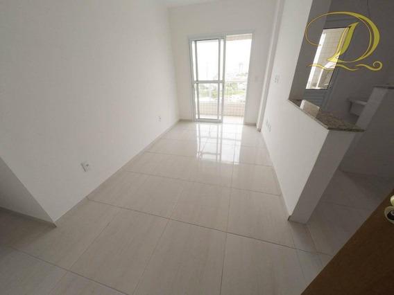 Apartamento Novo De 2 Quartos À Venda Na Praia Grande Com Churrasqueira Na Sacada E Elevador, Aceita Banco!!! - Ap2430