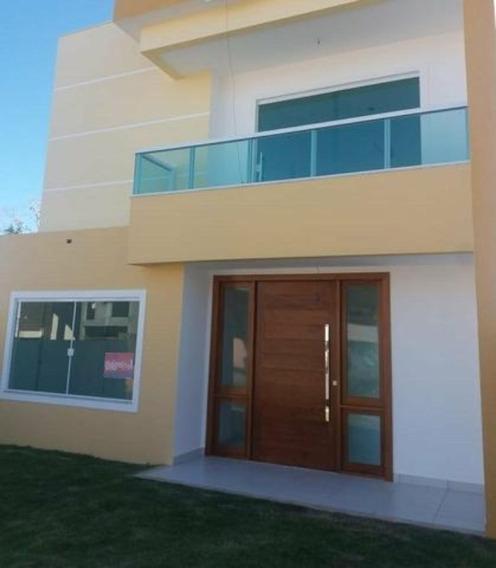 Casa Em Condominio Duplex 4 Quartos Sendo 3 Suites 180m2 Em Abrantes - Uni331 - 34390862