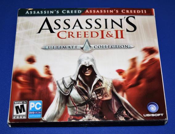 Assassins Creed I & Ii Pc Dvd Mídia Física (sem Key)
