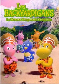 Los Backyardigans Tercera Temporada 3 Tres Dvd