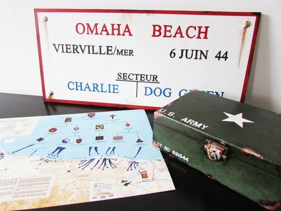Conjunto D Documentos E Itens Dia D Normandia Segunda Guerra