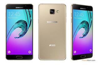 Celular Sansung Galaxy A5 2016 Dorado En Bune Estado