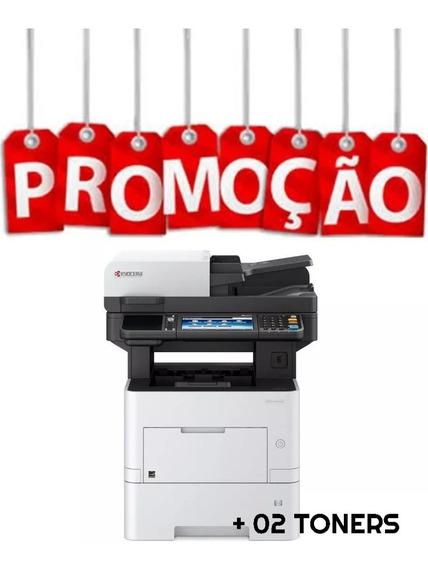 Kyocera Ecosys M3655idn Impressora Multifuncional + 02 Toner