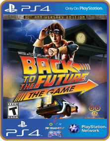 Ps4 Back To The Future The Game 30th Anniversary Ed Psn 1