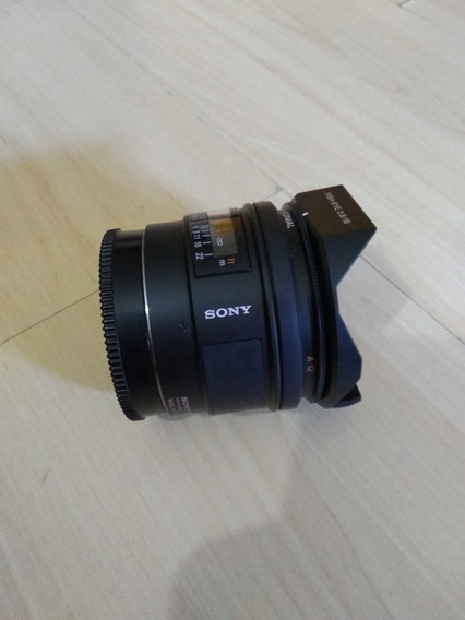 Lente Sony 16mm F/2.8 Fisheye A-mount (sal16f28) Sony
