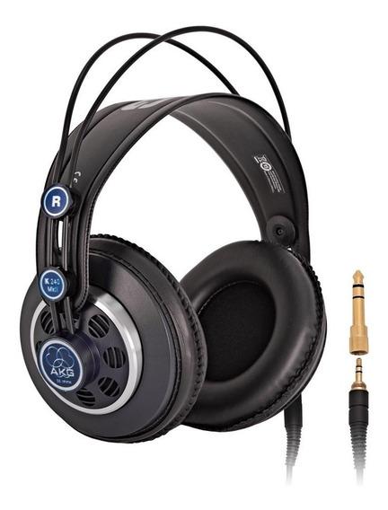 Fone De Ouvido Akg Headphone Profissional Studio K240 Mkii
