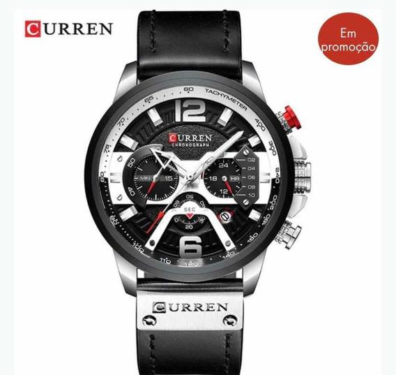 Relógio Curren Modelo 8329 pronta Entrega