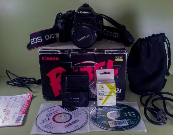 Camara Canon Eos Rebel T2i (550d) + Accesorios 230verds