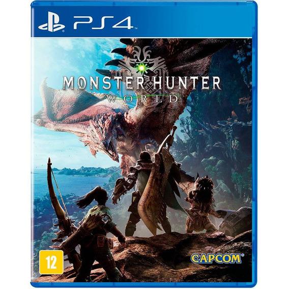 Jogo Monster Hunter - World (novo) Ps4