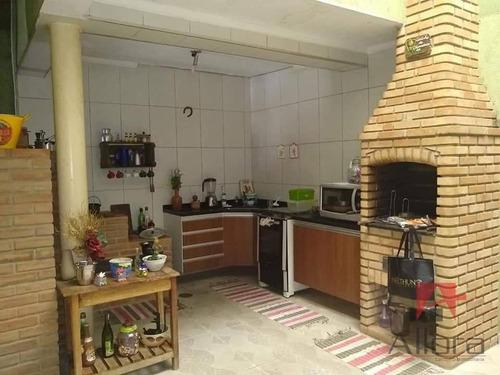 Imagem 1 de 21 de Sobrado Com 5 Dormitórios À Venda Ou Permuta, 234 M² Por R$ 800.000 - Vila Helena - Santo André/sp - Ca0923