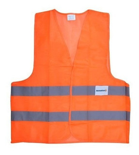 Chaleco De Seguridad Ultra Naranja,se-ch-u06, Con Reflejante