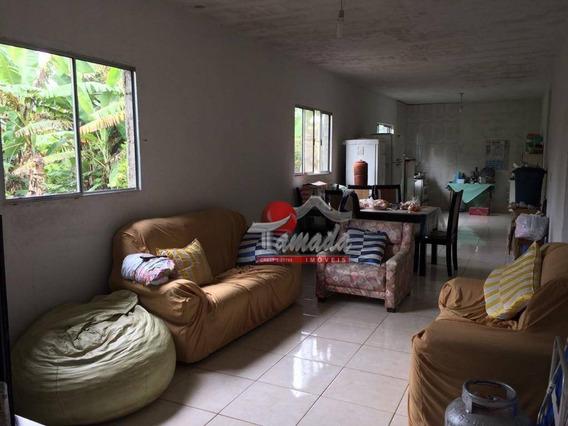 Chácara Com 3 Dormitórios À Venda Por R$ 300.000,00 - Jardim Chácara Méa - Suzano/sp - Ch0009